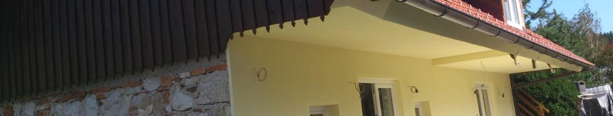 Slikopleskarska dela v stanovanju ali v hiši