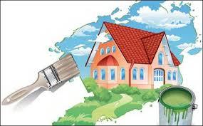 Slikopleskarska dela polepšajo dom